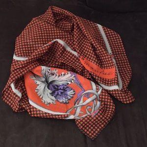 Vintage Manfredi Equestrian scarf wrap